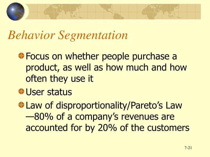Behavior Segmentation