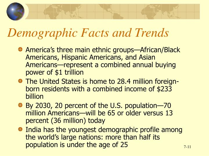 Demographic Facts and Trends