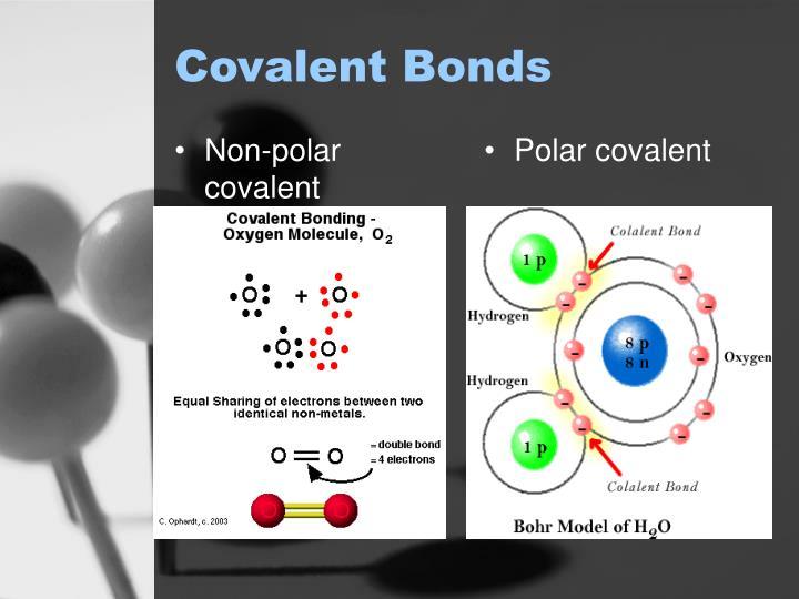 Non-polar covalent