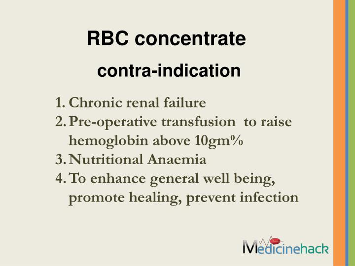 RBC concentrate