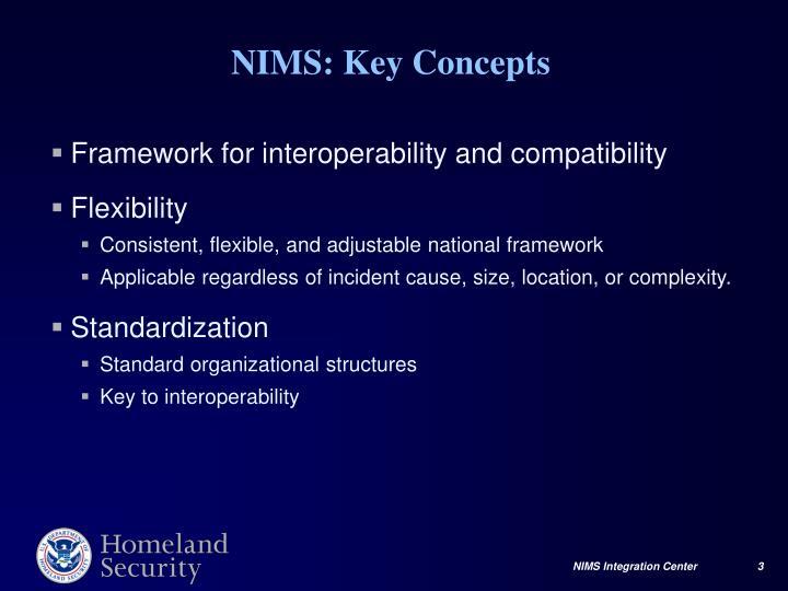 Nims key concepts