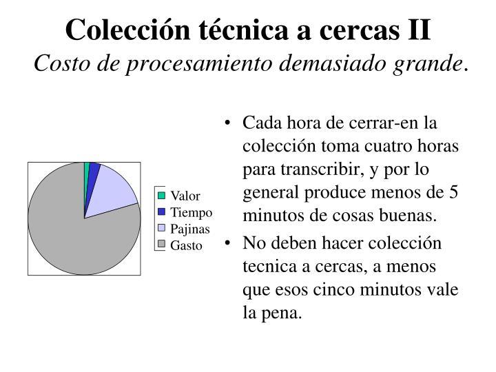 Colección técnica a cercas II