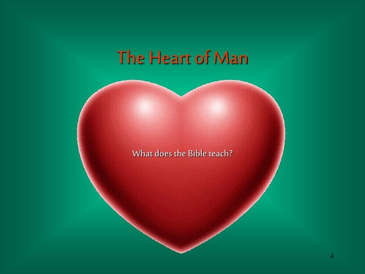 The Heart of Man