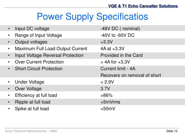 Input DC voltage-48V DC ( nominal)