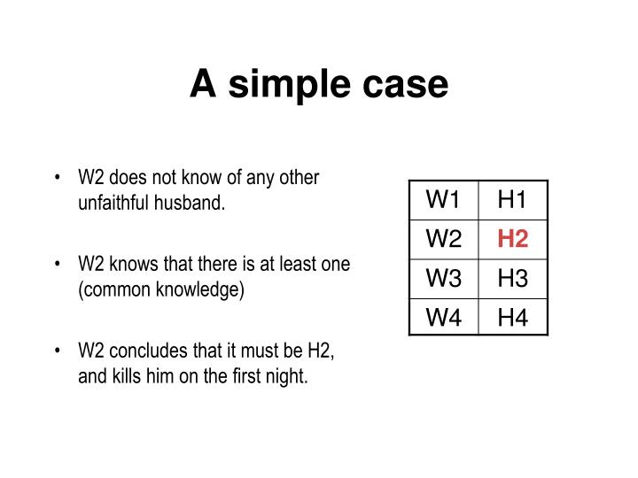 A simple case