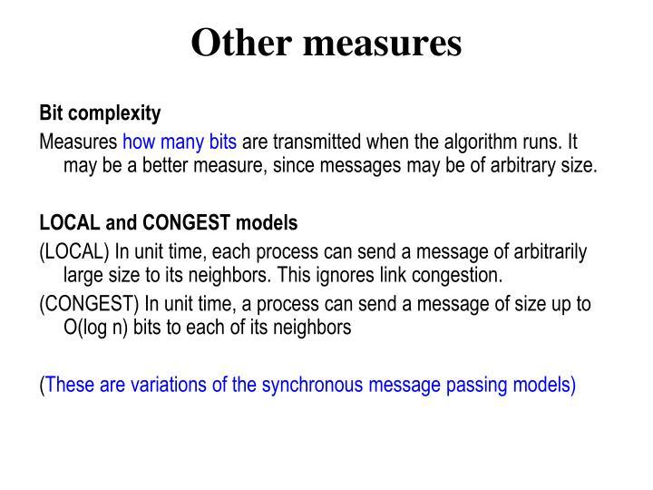 Bit complexity