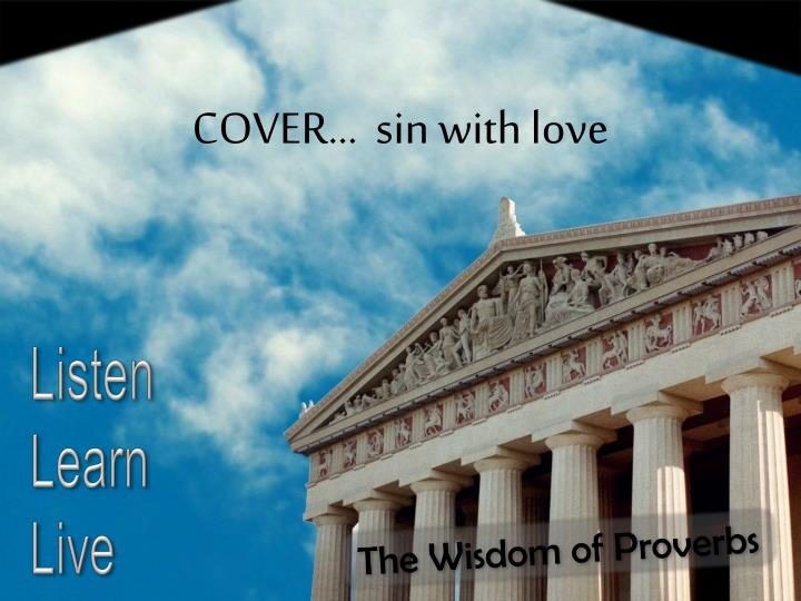 COVER…  sin with love