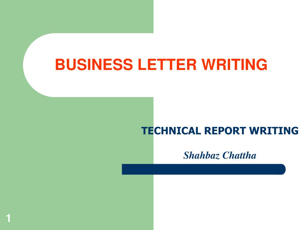 Ppt Business Letter Writing Powerpoint Presentation Free Download Id 1831289
