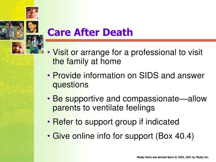 Care After Death