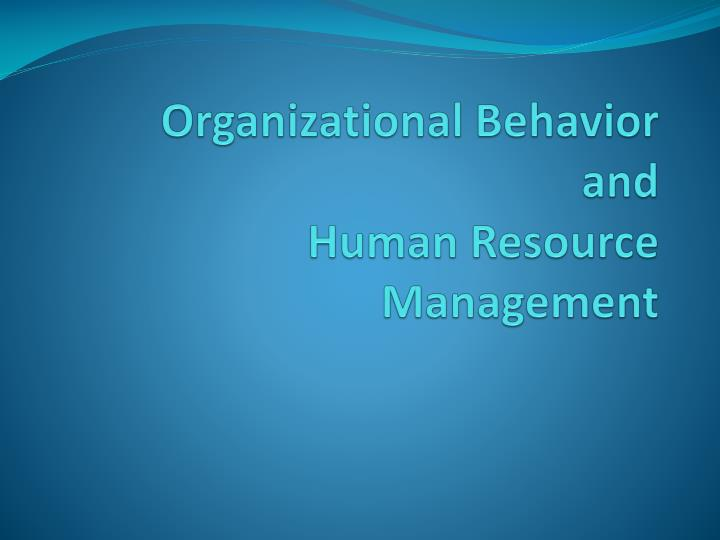 organizational behavior case study with solution Task – organizational behavior using concepts and readings from the module, critically analyse a problem you are experiencing (or have experienced) at work follow the step-by-step procedure to case analysis described below.