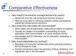 comparative effectiveness1