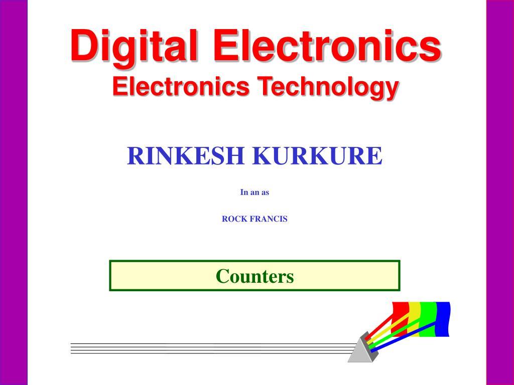 Ppt Digital Electronics Technology Powerpoint Logic Diagram 7493 Presentation Id1831993