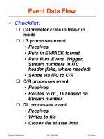 event data flow