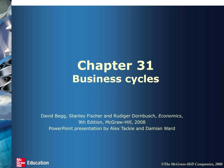 Chapter 31 business cycles