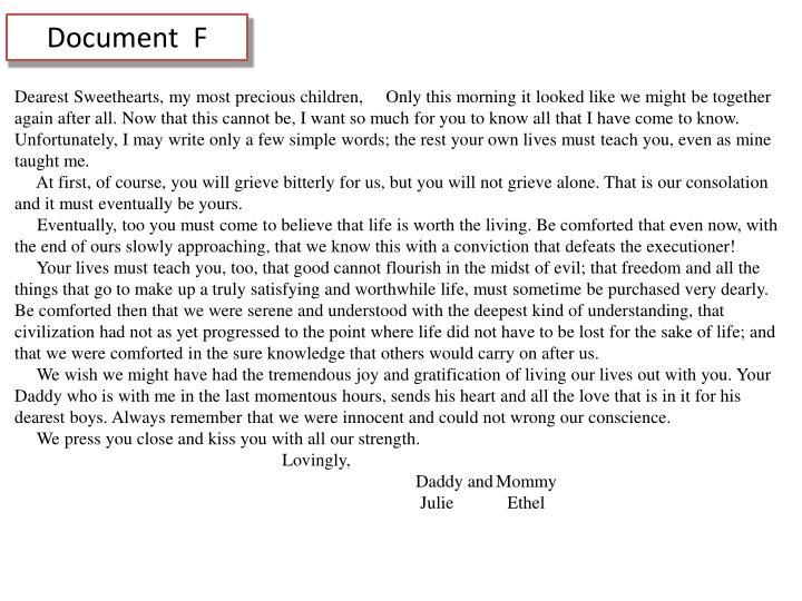 Document  F