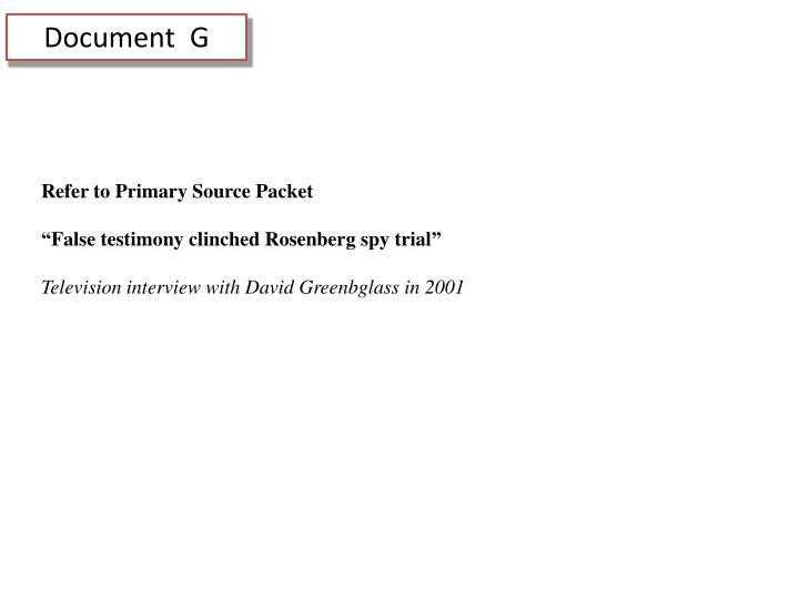 Document  G