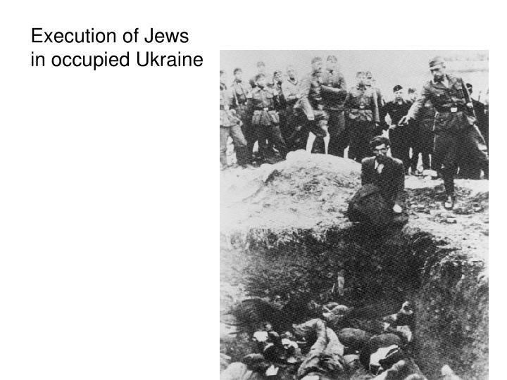 Execution of Jews