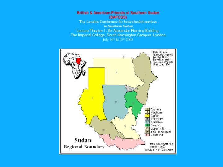 British & American Friends of Southern Sudan