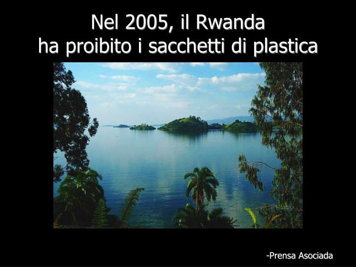 Nel 2005, il Rwanda