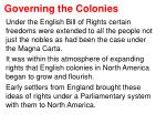 governing the colonies5