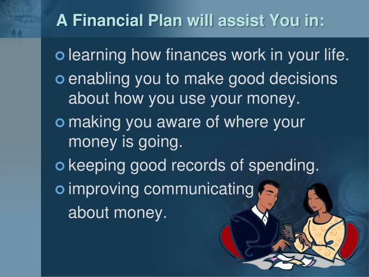 A Financial Plan will