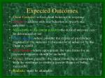 expected outcomes1