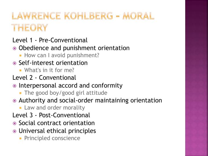 the gilligan kohlberg moral theory controversy Despite its empirical limitations, gilligan's critique of kohlberg's theory has had a huge influence on the evolution of the field of moral psychology and moral education first, it was instrumental in pushing cognitive developmentalists to seek cross-gender and cross-cultural empirical validation for the theory of moral development.
