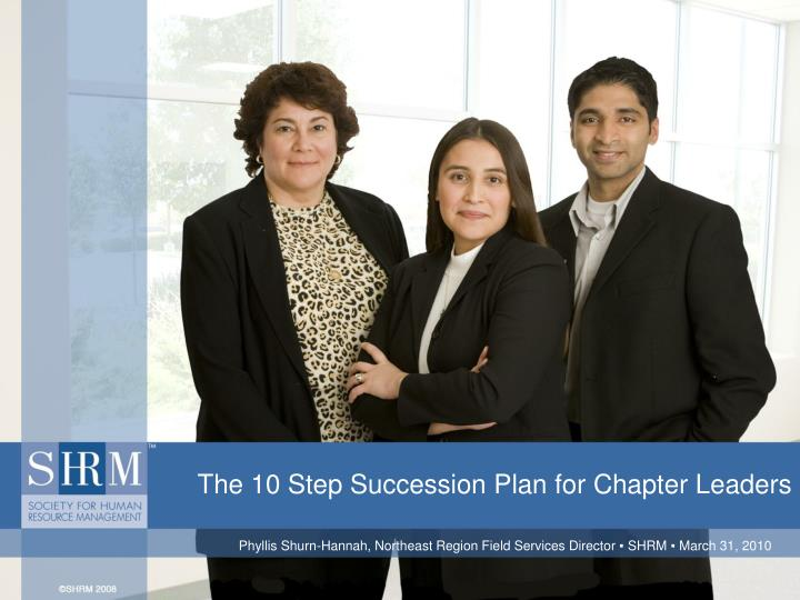 the 10 step succession plan for chapter leaders n.
