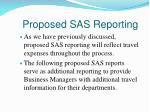proposed sas reporting1