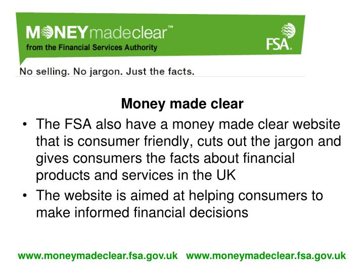 Money made clear