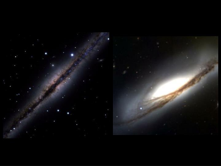 Edge-on galaxies