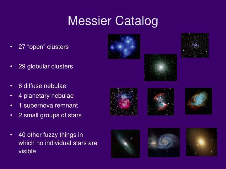 Messier Catalog