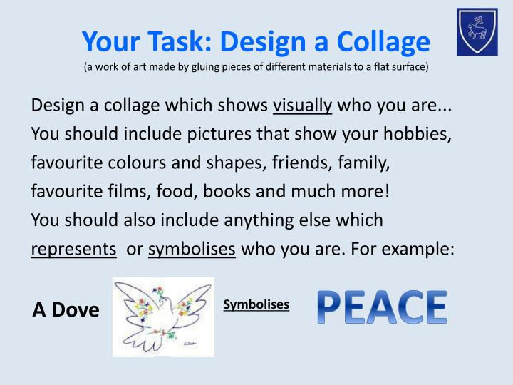Your Task: Design a Collage