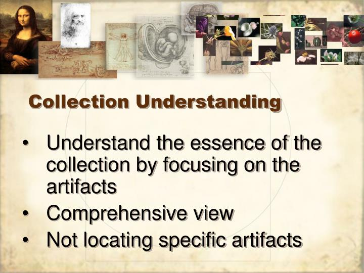 Collection understanding1