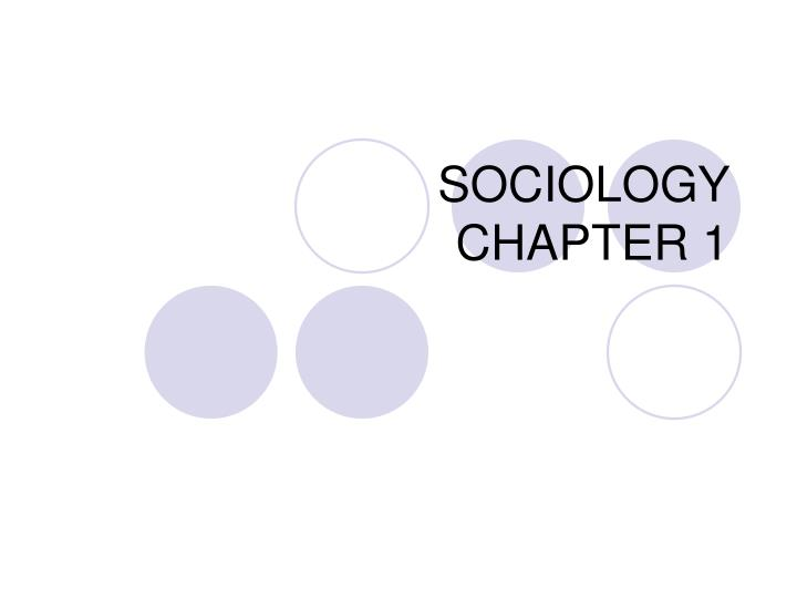 sociology chapter one Chapter 1 an introduction to sociology: quick quiz introduction to sociology chapter 1 quiz answers   which research method utilizes public records such as marriage and divorce certificates, police records, and.