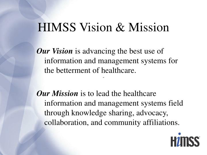 Himss vision mission