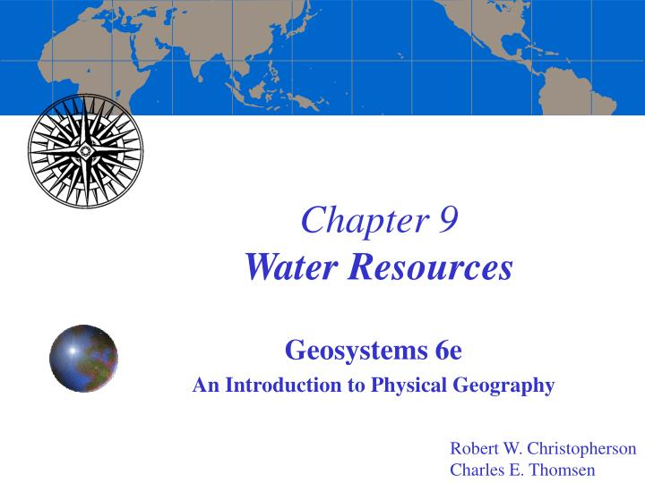 chapter 9 water resources n.