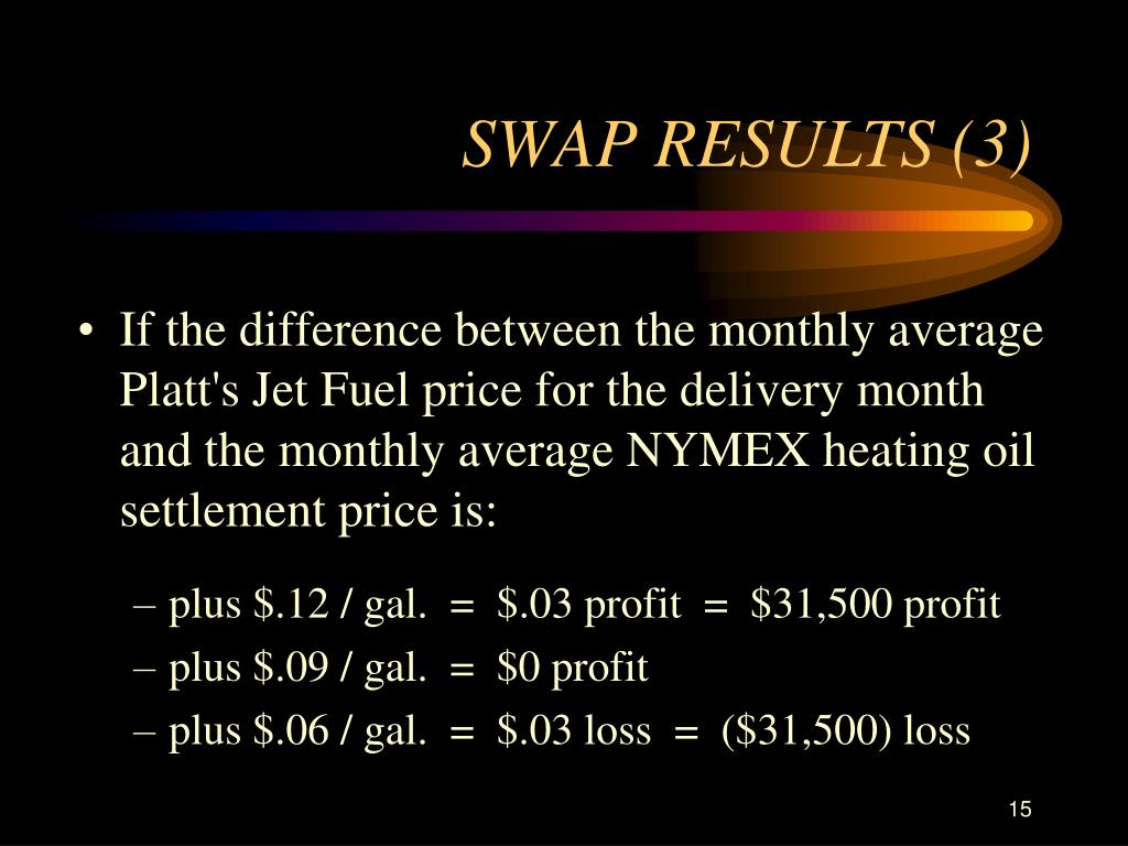Fuel Oil Platts Price