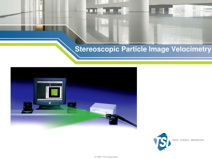stereoscopic particle image velocimetry n.