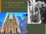 st patrick s cathedral 1878 n y c