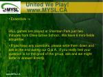 united we play www mysl ca1