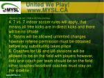 united we play www mysl ca11