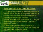 united we play www mysl ca14