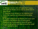 united we play www mysl ca15