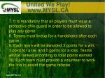 united we play www mysl ca16