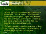 united we play www mysl ca18