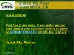united we play www mysl ca20