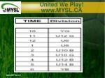 united we play www mysl ca4