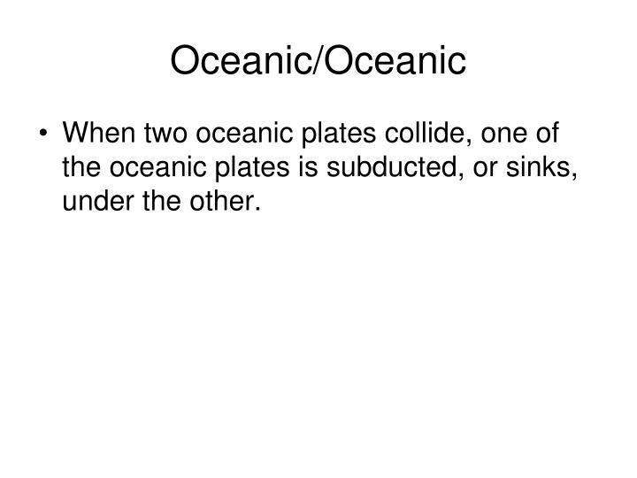 Oceanic/Oceanic