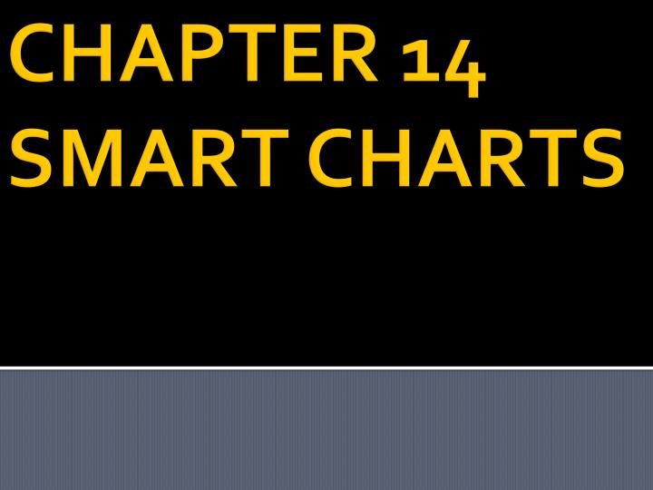 chapter 14 smart charts